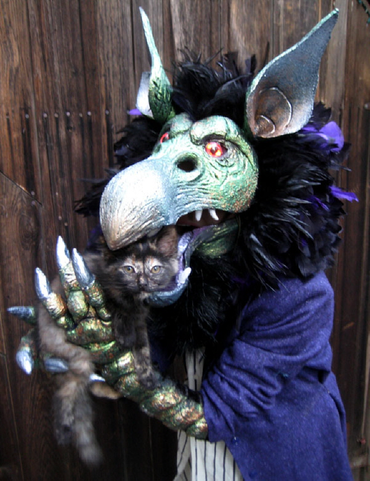Articulated Monster Mask