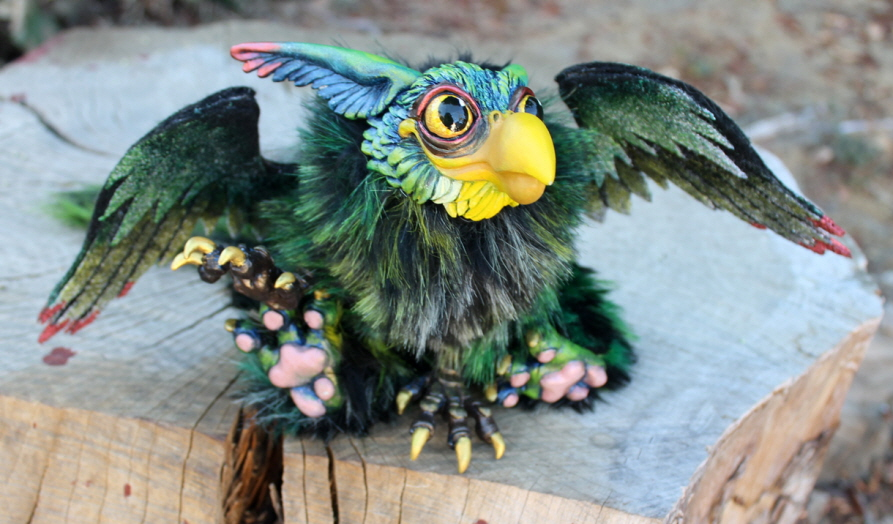 Baby Griffin - Green